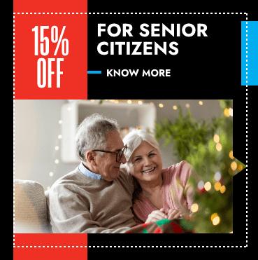 15% off for senior citizens coupan